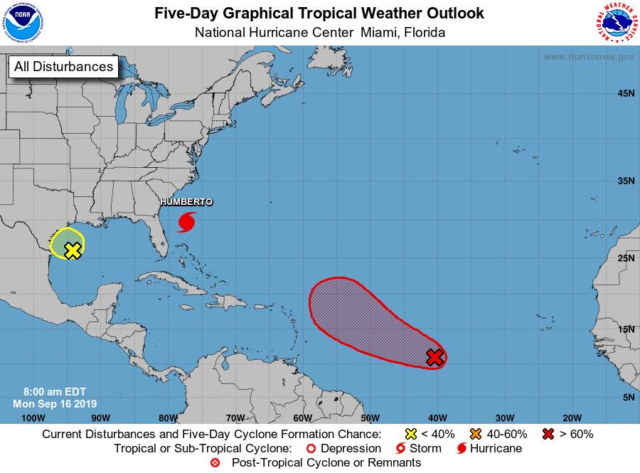 Hurricane Season is in full swing