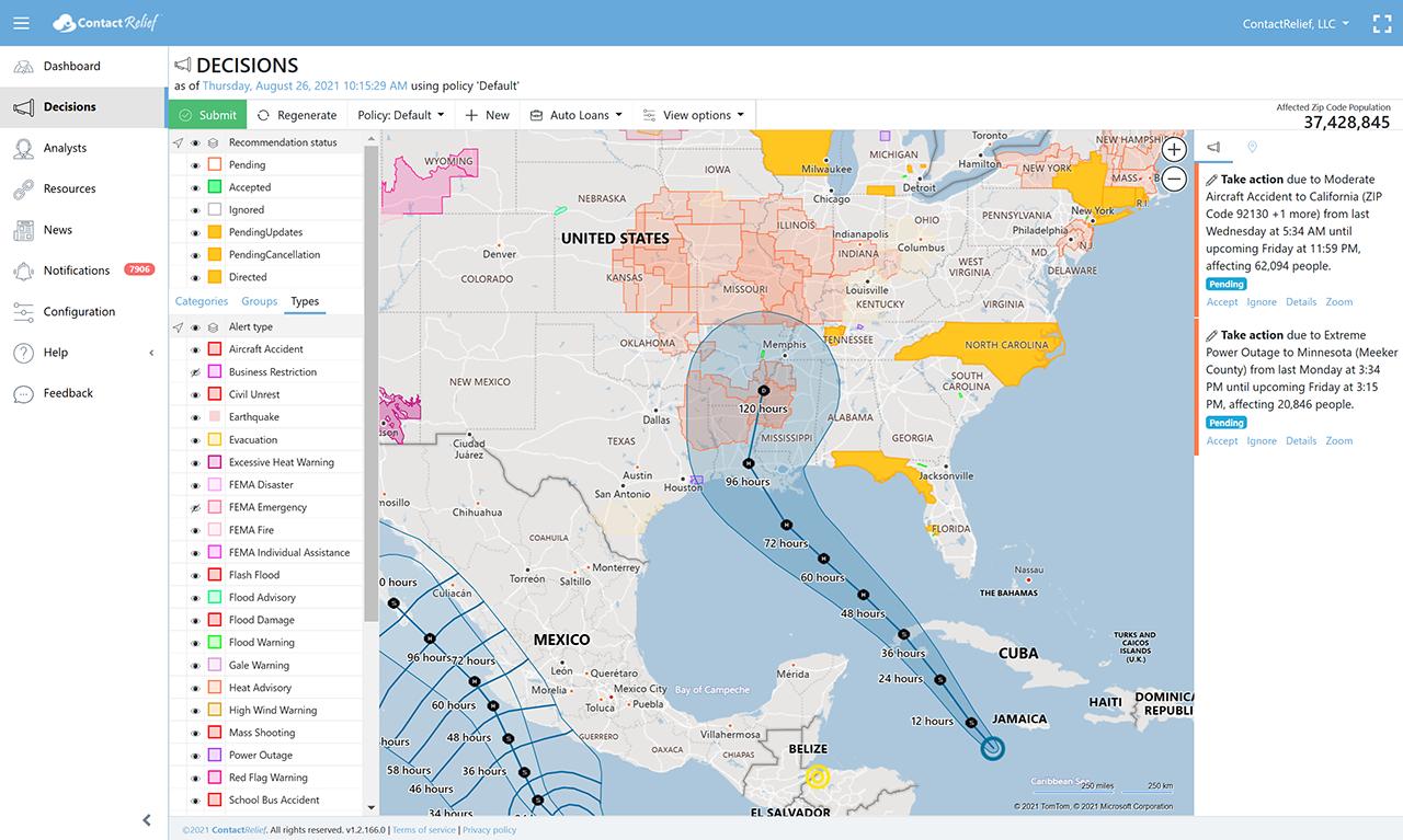 Tropical Depression Nine Forecasted to Strike Louisiana as a Hurricane